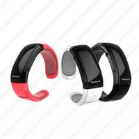 Wholesale A2 New Design Bluetooth watch Bracelet watch Mic Speaker vibration caller ID music Mobile Phones Digital Time