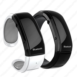 Wholesale A2 Mini LED Wrist Watch Bluetooth Bracelet Vibrate Vibrating Time Caller ID Connect cell phone