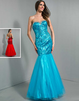 Cheap New Arrival 2014 Beaded Sweetheart Neckline Long Party Dress Tulle and Sequins Lace Floor Length Mermaid Wow Prom Dresses Gowns Custom Made