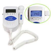 Wholesale CONTEC Pocket Fetal Doppler Sonoline B with LCD Screen Heartbeat Pregnant women Color Blue