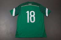 Wholesale Customized Thailand Quality World Cup Mexico A GUARDADO Home Green Soccer Jersey Football Jerseys Tops Shirts