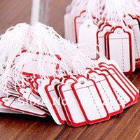 Wholesale Paper Label Tie String Price Tag Tags Display x0 quot