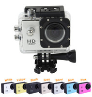 Wholesale New SJ4000 Helmet Sports DV P Full HD H MP Car Recorder Diving Bicycle Action Camera Waterproof Silver Q3051D