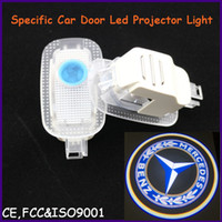 Cheap Auto spare part, car door led shadow lights, logo laser projector light for Mercedes-Benz