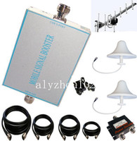 Cheap 500-800sqm 70dB CDMA 800(GSM850) MHz Mobile Booster repeater amplifier TE-8070+1 Yagi+2 Dome Antenna+1 Power Splitter+four cable