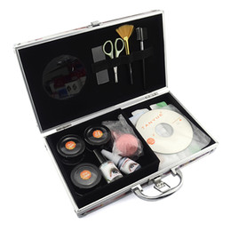 Wholesale 2014 New Professional High Quality False Eyelash Eye Lashes Extension Full Set Kits with Case Without Clean And Glue