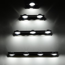 Modern High Power LED Stainless Steel Bathroom Wall Lamp Washroom Mirror Front Wall Sconces Lights