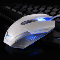 Wholesale HAVIT MS691 D DPI Optical Adjustable D Button Wired Gaming Mouse Game Mice for Laptop PC White