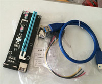 bitcoin - PCI E PCI E Express x to x Riser Extender Adapter Card with cm USB Cable power for bitcoin