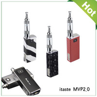 Wholesale 2014 NEW INNOKIN iTaste MVP V2 Electronic Cigarette Kit mAh Voltage Adjustable Rechargeable Mechanical LCD Battery iClear Atomizer