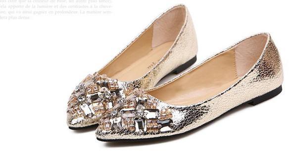 Fashion Women flat shoes , Designer flat dress shoes