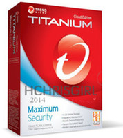 Antivirus & Security Home Windows New 2014 Trend Micro Titanium Maxmium (and internet)Security 2014 1 Year 3PC , software only Key