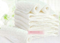 Wholesale 2014 Cotton Newborn Baby Washable Cloths Diapers Kids Comfortable Nappy Liners Reusable Diapers Inserts B2842