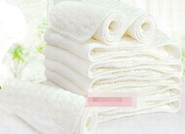 2014 Cotton Newborn Baby Washable Cloths Diapers Kids Comfortable Nappy Liners Reusable Diapers Inserts B2842