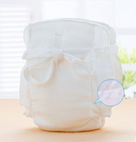 Wholesale Six Layered Newborn Baby Washable Cloths Diapers Reusable Cotton Breathable Waterproof Kids Nappies Children Diaper B2843