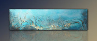 One Panel oil painting - Modern Abstract Oil Painting hand painted oil wall art oil painting on canvas XD1