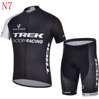 Wholesale 2014 good sale trek Cycling jersey balck color Outdoor bike clothing short Road bicycle suit top quality