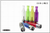 Electronic Cigarette Atomizer  Wholesale - New GS-H2 H3 H5 atomizer Clearomizer Bottom Coil Vaporizer E-cigarette GS H3 Detachable No Wick for Ego-t Ego-w all ego battery