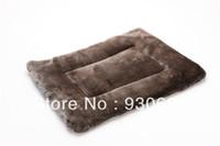 Wholesale Faux Fur Dog Cushion Plush Dog Mat Pieces Discount
