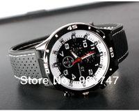 Men's Round 24 2013 F1 Grand Touring GT Men Sport Quartz Watch Military Watches Army Japan PC Movement Wristwatch Fashion Men's Watches