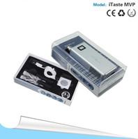 Wholesale NEW INNOKIN iTaste MVP V2 Electronic Cigarette Kit mAh Voltage Adjustable Rechargeable Mechanical LCD Battery
