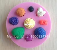 Wholesale 1PCS Love baby shape Chocolate Candy Jello D silicone Mold Cartoon Figre cake tools Soap Mold Sugar craft Cake Decoration