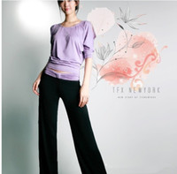 Unisex other Regular Promotion! Retail! Excellent Elasticity Sports suits Sweat suit Women's Shoulder Open Yoga sets Dancing Wear Free Ship 830001