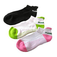 Wholesale Pairs Quality Environmental Protection Resin Particle Yoga Non slip Socks Thickening Antibacterial Massage Sock