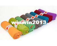 Wholesale New Yogitoes Silicone nubs skidless Yoga towel x62 cm Freeshipping