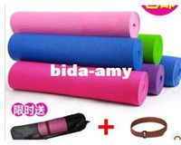 Wholesale NEW Fitness products eco friendly antibiotic yoga mat mm yoga mat backpack FREE SHOPPING