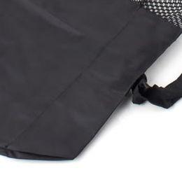 10pcs Yoga Bag Portable Yoga Mat Bag Nylon Carrier Mesh Black New Free Shipping