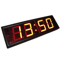 Acrylic american sporting events - 4 Character High HH MM MM SS Alternatively Countdown Count Up Timer Sport Event Race Running Clock Red Indoor LED Countdown Clock