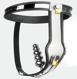 Female Adjustable Model-T Stainless Steel Vaginal plug Chastity Belt female Chastity device