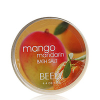 Wholesale Beely mango citrus fragrance bath salt g body care is corneous exfoliating