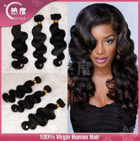 Wholesale Brazilian Top Quality Remy Hair Weave Body Wave High Fidelity Discount Hair Extensions A Grade Unprocessed Virgin Remy human hair