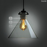 Wholesale Dia cm Modern Glass Funnel Pendant Lights Italy Fashion Dining room Lighting Fixtures By Jeremy Pyles PL222