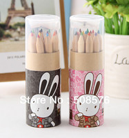 Wholesale Color pencil diary design classic kawaii stationery for art drawing kids graffiti shool supplies