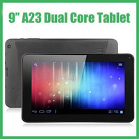 Wholesale Freeshipping inch inch Allwinner A23 Dual Core Android Tablet PC GHz MB RAM GB Storage Dual Camera Wifi MQ50