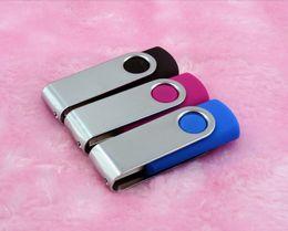 Wholesale 100 DHL Free Quality Go Go Go Métal Plastique Swivel Go Go Go Métal Premium Noir Swivel USB USB Flash Drive