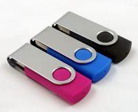 Wholesale USB Plastic Swivel GB GB GB Flash Thumb Drives Pro USB Flash Memory Drive USB Mini Silver Plastic Swivel USB Flash Memory