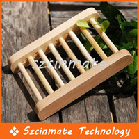 Wholesale Wooden Soap Dishes Bathroom Soap Tray Handmade Soap Prop Soap Holder Soapbox