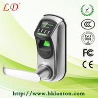 Wholesale double latch fingerprint and digital keypad door lock