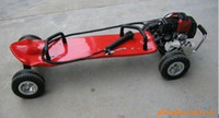 Wholesale Gas skateboard petrol motor scooter cc motorized skateboard red color Brand New Australia New Zealand EMS