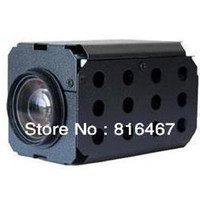 Wholesale Sens up sony EFFIO E CCD DSP TVL D DNR WDR CCTV Security Box camera Digital zoom camera for speed dome camera