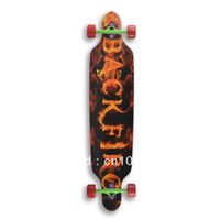 Wholesale Through x42 New cruiser skateboard complete longboard TX004YSSKY
