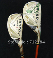 Wholesale New KATANA SWORD SNIPER I Golf irons set pw Sw Aw pc Golf Clubs graphite shaft