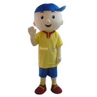 Wholesale Fancytrader Deluxe EVA Caillou Mascot Costume Fancy Dress Outfit Actual Pictures FT30365