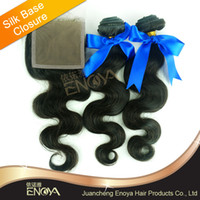 Cheap Brazilian Hair hair weft with closure Best Natural Color Body Wave brazilian remy hair