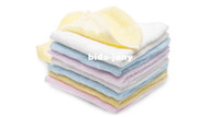 bamboo face cloths - 12 x Bamboo Fibre Baby Kids Children Wash Cloth Face Washer BRAND NEW