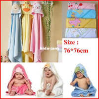 bath towel embroidery - High Quality cm Children s Embroidery Cotton Bathrobe Infants Towels Baby Kids Bath Towel